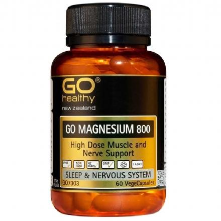 Go Healthy - Go Healthy Go Magnesium 800 - High Dose Muscle