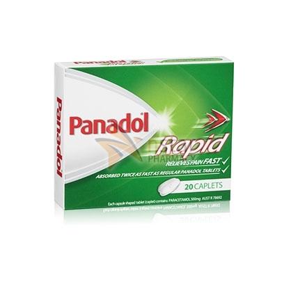 Panadol Panadol Rapid Nstar Pharmacy A Leading New